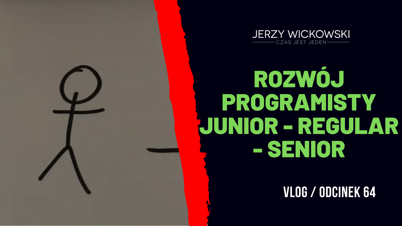 Rozwój programisty Junior - Regular - Senior